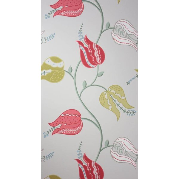 ISFAHAN TULIP Red Silver