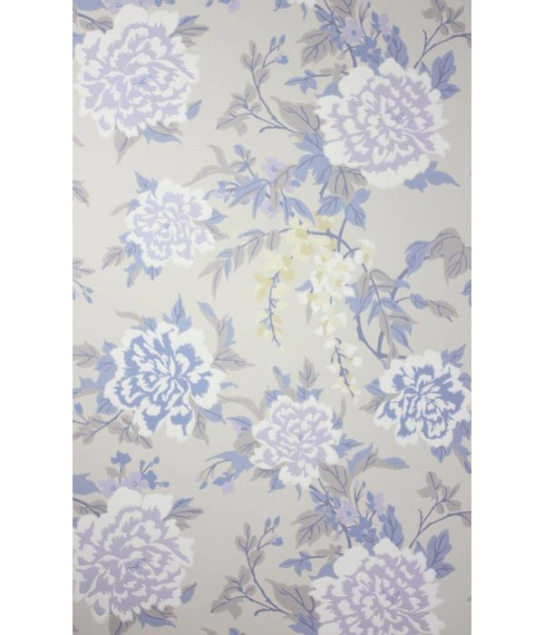 Osborne-Little PERSIAN GARDEN Blue Purple W6492-02 Behang