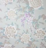Osborne-Little PERSIAN GARDEN Light Brown Purple W6492-04 Behang