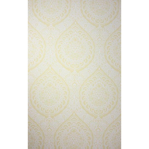 ROSALIA DAMASK Light Yellow