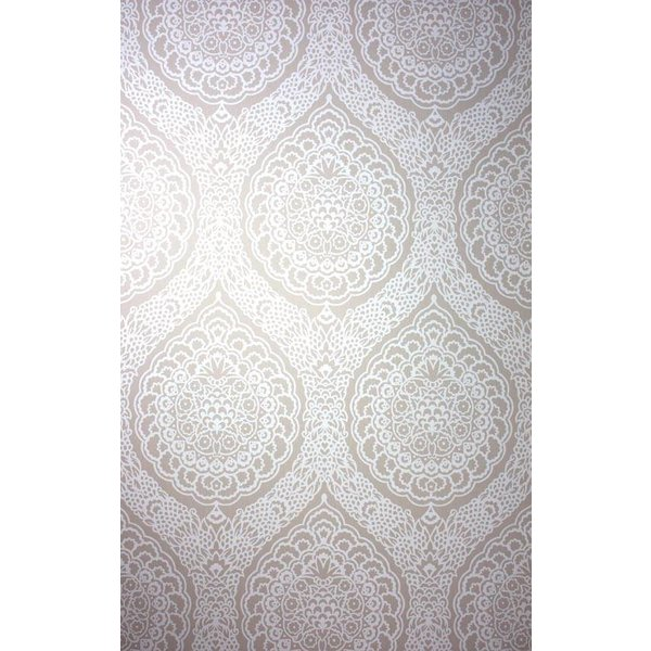 ROSALIA DAMASK Antique White