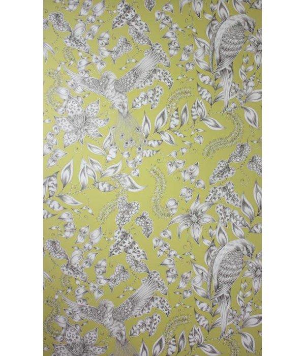 Osborne-Little KAYYAM Yellow White Wallpaper