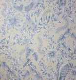 Osborne-Little KAYYAM Blue Snow Wallpaper
