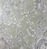 Osborne-Little KAYYAM Slate Dark Gray Wallpaper