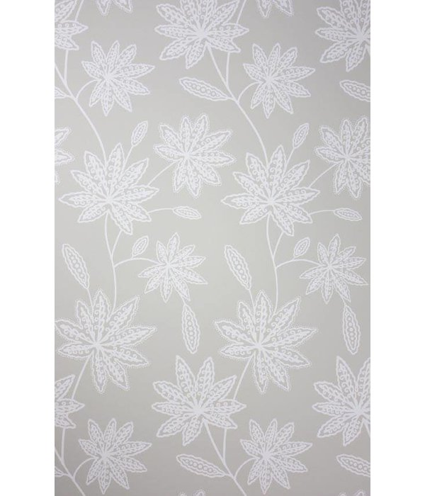Osborne-Little CHENAR Gray White Wallpaper