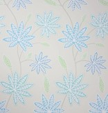 Osborne-Little CHENAR Sky Blue Gray Wallpaper