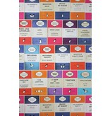 Osborne-Little PENGUIN LIBRARY Multicolor W6498-01 Behang