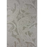 Osborne-Little PATARA White Dark Gray Wallpaper