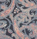 Osborne-Little PATARA Black Blue Red W6750-06 Behang