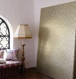 Osborne-Little EBRU White Rose Wallpaper