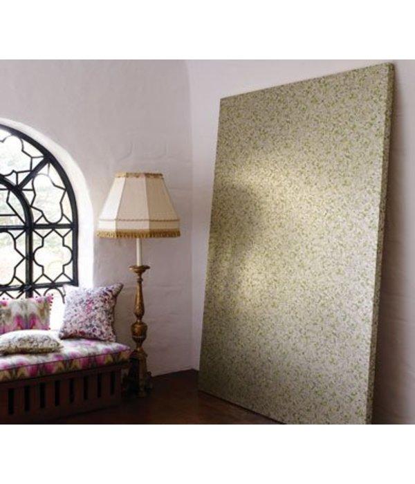 Osborne-Little EBRU White Green Wallpaper