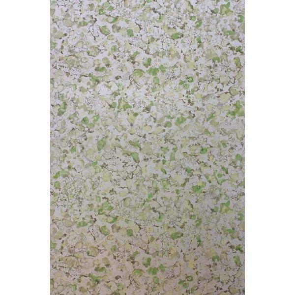 EBRU Green White W6751-05