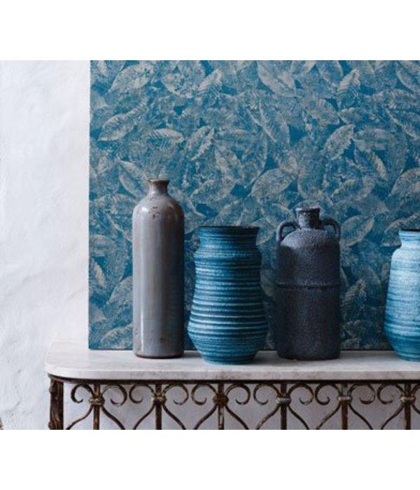 Osborne-Little KAYIN Dark Sea Blue Wallpaper