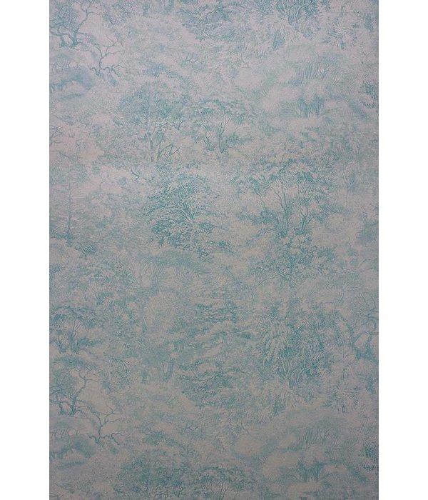 Osborne-Little FOLYO Sea Blue Gray Wallpaper
