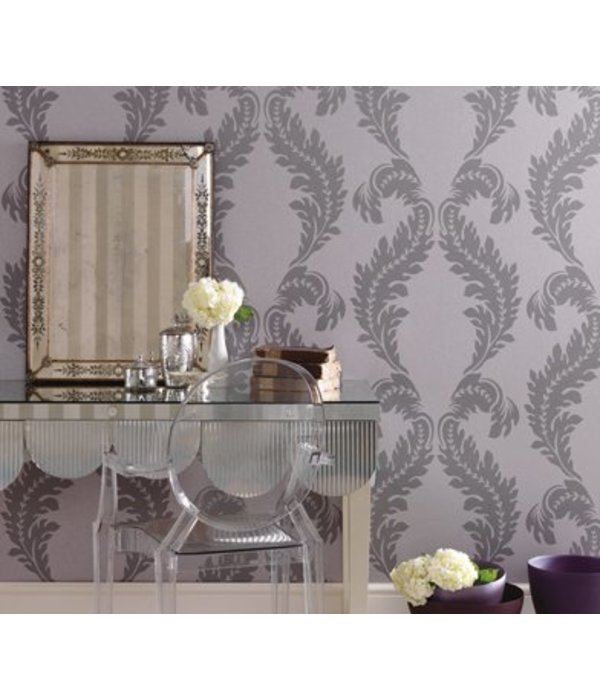 Osborne-Little MANZONI White Gray Wallpaper