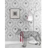 Osborne-Little Rezzonico Silver-Ivory Wallpaper