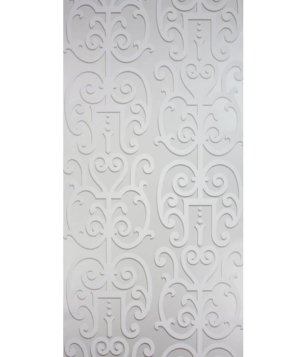 Osborne-Little Colleoni Silver Wallpaper