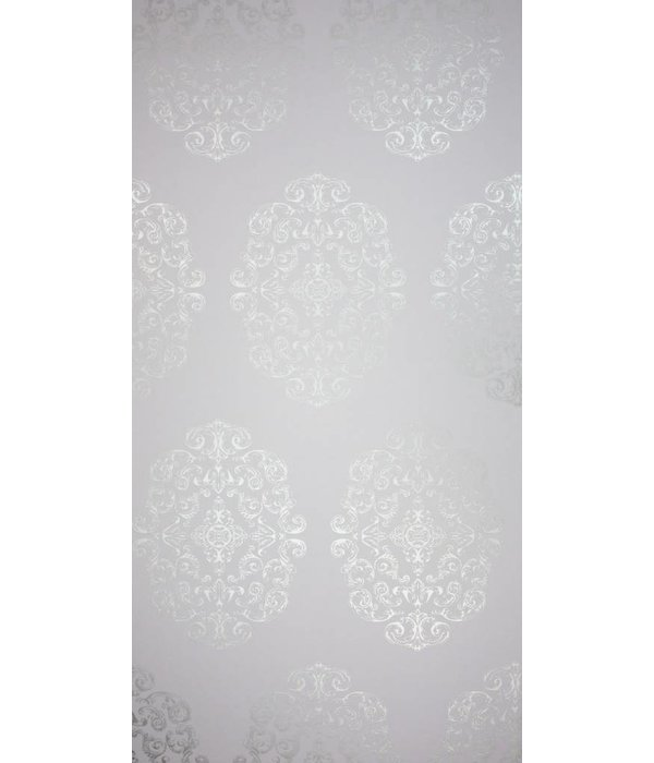 Osborne-Little Zecca Lilac-Silver Wallpaper