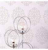 Osborne-Little Zecca Taupe-Silver W6180-02 Behang
