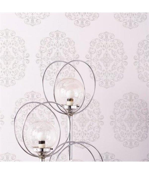 Osborne-Little Zecca Taupe-Silver Wallpaper