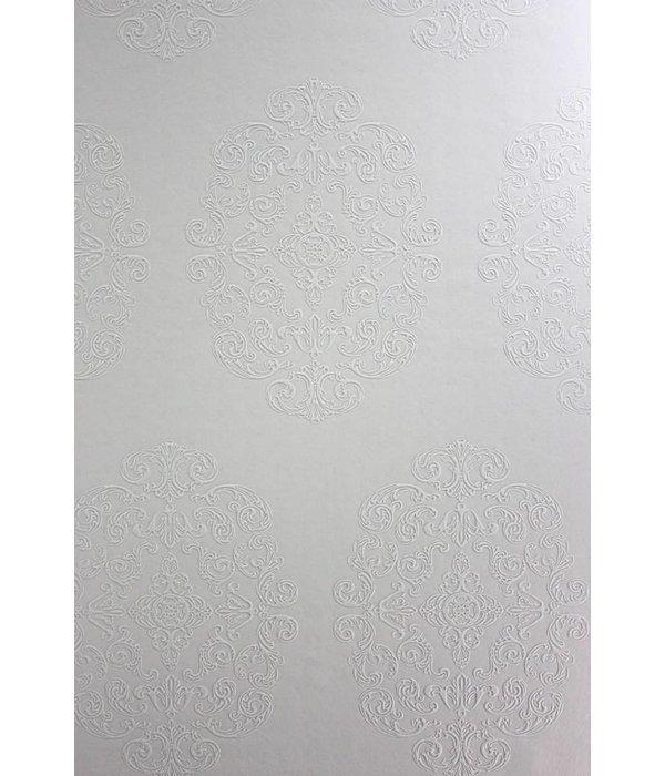 Osborne-Little Zecca Cream-Suede W6180-04 Behang