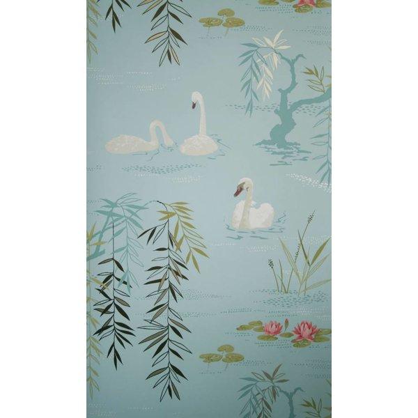 Swan Lake Lichtblauw