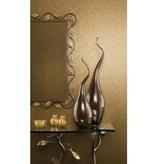 Nina-Campbell Gilty Turquoise En Goud Wallpaper