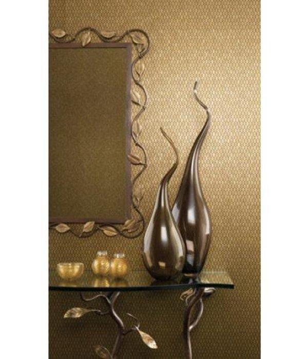 Nina-Campbell Gilty Turquoise En Goud NCW4023-04 Behang