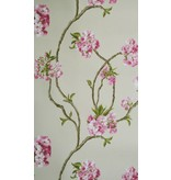 Nina-Campbell Orchard Blossom Beige En Roze NCW4027-01 Behang