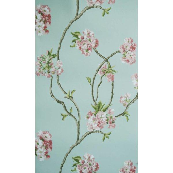 Orchard Blossom Lichtblauw En Roze NCW4027-02