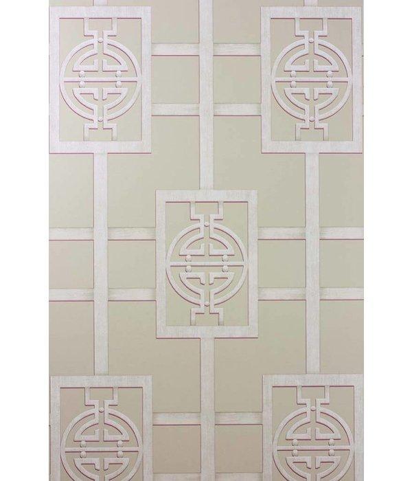 Nina-Campbell Sansui Taupe Wallpaper