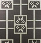 Nina-Campbell Sansui Charcoal/Gilver Wallpaper