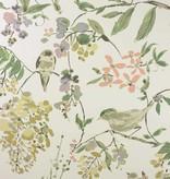 Nina-Campbell Penglai Coral/Lavender NCW4182-01 Behang