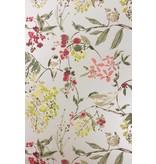 Nina-Campbell Penglai Charcoal/Sage Wallpaper