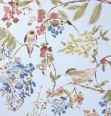 Nina-Campbell Penglai Blue/Pink Wallpaper