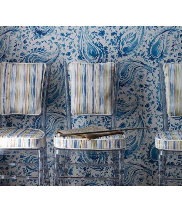 Nina-Campbell Pamir Ivory/Pearl Wallpaper