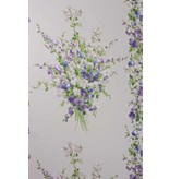 Nina-Campbell Suzhou Blue/Lilac/Green Wallpaper