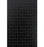 Nina-Campbell Mahayana Black Lacquer Wallpaper