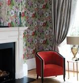 Nina-Campbell Rosslyn Amethyst/Magenta/Emerald Wallpaper