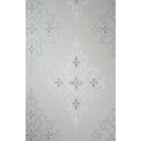 Holmwood Aqua/White