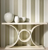 Nina-Campbell Bothwell White/Mica Wallpaper