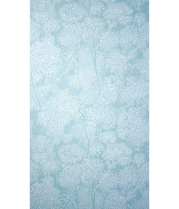 Nina-Campbell Woodsford Aqua Wallpaper