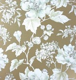Nina-Campbell Benington Gold Wallpaper
