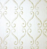 Nina-Campbell Wilmington Stone/Gold Wallpaper