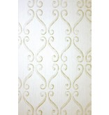 Nina-Campbell Wilmington Stone/Gold NCW4107-03 Behang