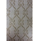 Nina-Campbell Wilmington Pewter/Gold Wallpaper