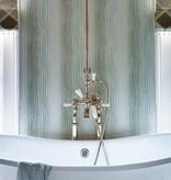 Nina-Campbell Kintail Aqua Wallpaper