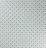Nina-Campbell Kelburn Aqua/Gilver NCW4155-02 Behang