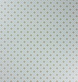 Nina-Campbell Kelburn Aqua/Gilver Wallpaper