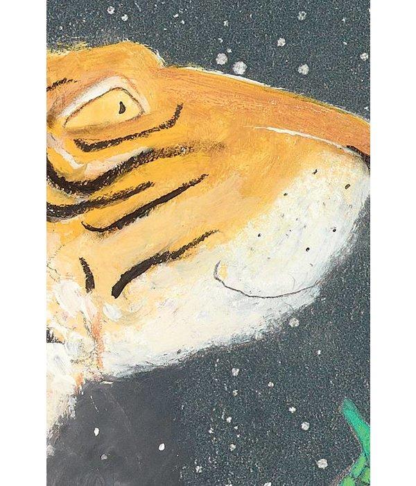 Kek-Amsterdam Smiling Tiger WS-003 Behang